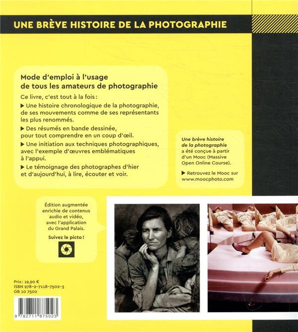 Une brève histoire de la photographie ; de 1816 à nos jours
