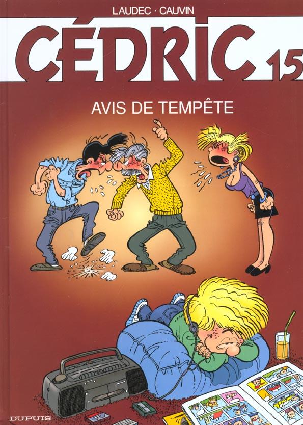 CEDRIC T.15  -  AVIS DE TEMPETE