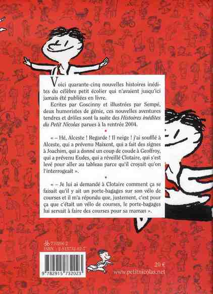 histoires inédites du Petit Nicolas t.2