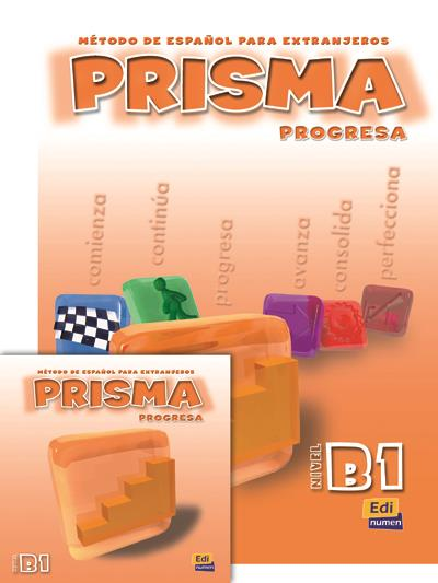 Prisma ; Progresa ; Nivel B1 ; Metodo De Espanol Para Extranjeros