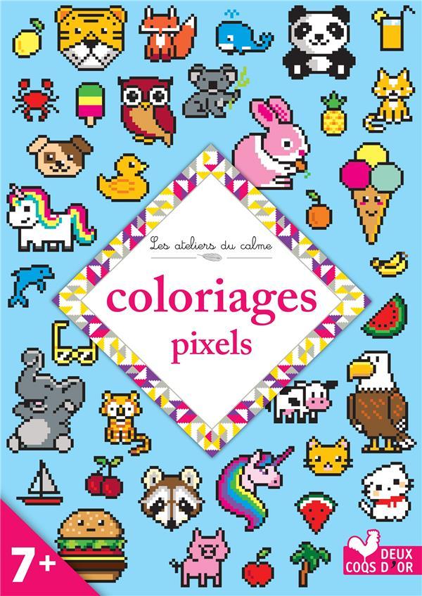 les ateliers du calme ; coloriages pixels