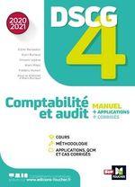 Vente Livre Numérique : DSCG 4 - Comptabilité et audit - manuel et applications - Millésime 2020-2021  - Collectif - Alain Burlaud - Didier Bensadon - Alain Mikol - Frédéric Romon - Vincent Lepève