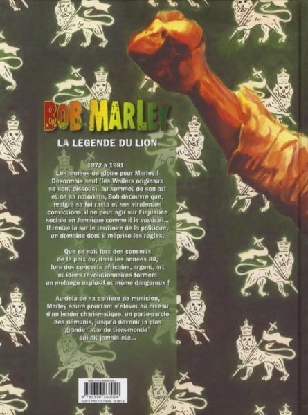 Bob Marley t.2 ; la légende du lion