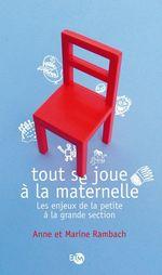 Vente Livre Numérique : Tout se joue à la maternelle  - Anne Rambach - Marine Rambach