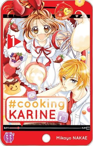 Vente Livre Numérique : #Cooking Karine T01  - Mikayo Nakae