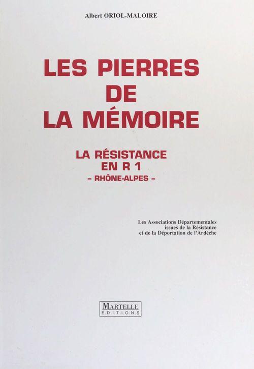 Pierres de la memoire (les)
