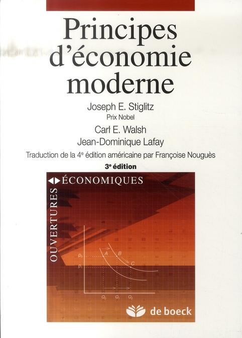 Principes D'Economie Moderne