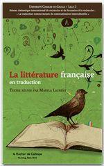 La littérature française en traduction