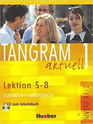 Tangram aktuell 1 - lektion 5-8 kursbuch + arbeitsbuch mit audio-cd zum arbeitsbuch