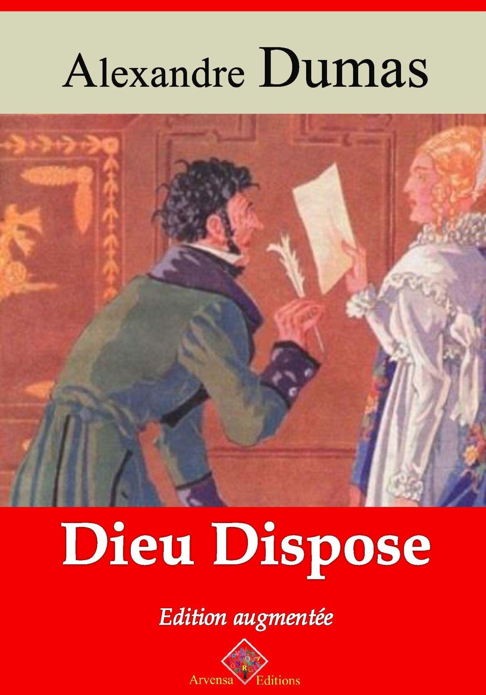 Vente Livre Numérique : Dieu dispose - suivi d'annexes  - Alexandre Dumas