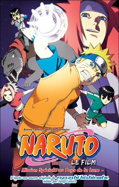 Naruto Shippuden T.3 ; mission spéciale au pays de la lune