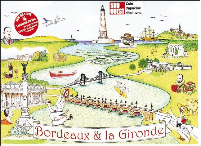 Bordeaux  ; coffret livre jeu