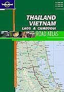Thailand vietnam laos cambodia travel atlas ; 1e edition