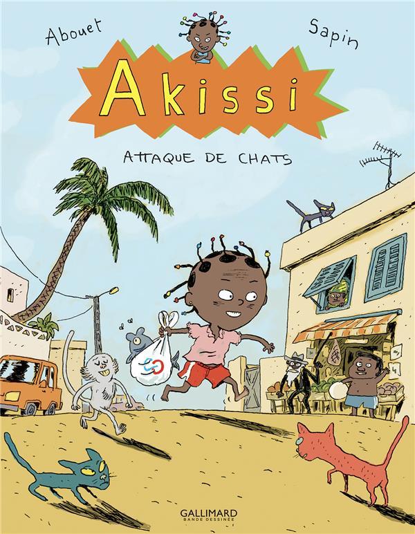 Akissi t.1 ; attaque de chats