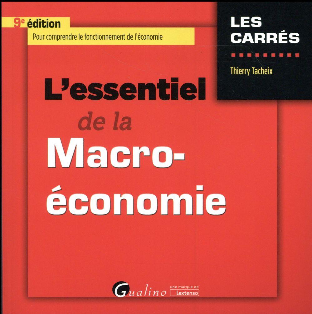 L'essentiel de la macro-économie (9e édition)