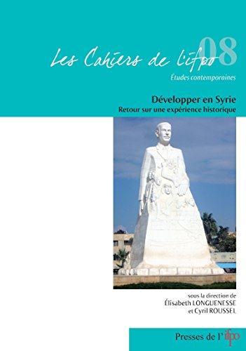 Developper en syrie. retour sur une experience historique