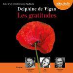 Vente AudioBook : Les Gratitudes  - Delphine de Vigan