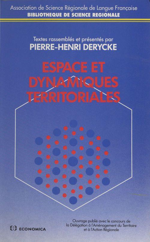 Espace et dynamiques territoriales