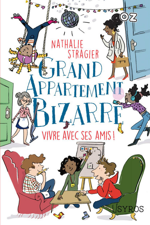 grand appartement bizarre t.2 ; vivre avec ses amis !