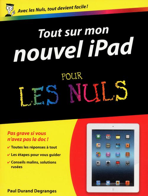 Tout sur mon iPad 3 pour les nuls