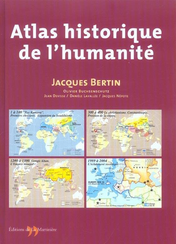 Atlas historique de l'humanite