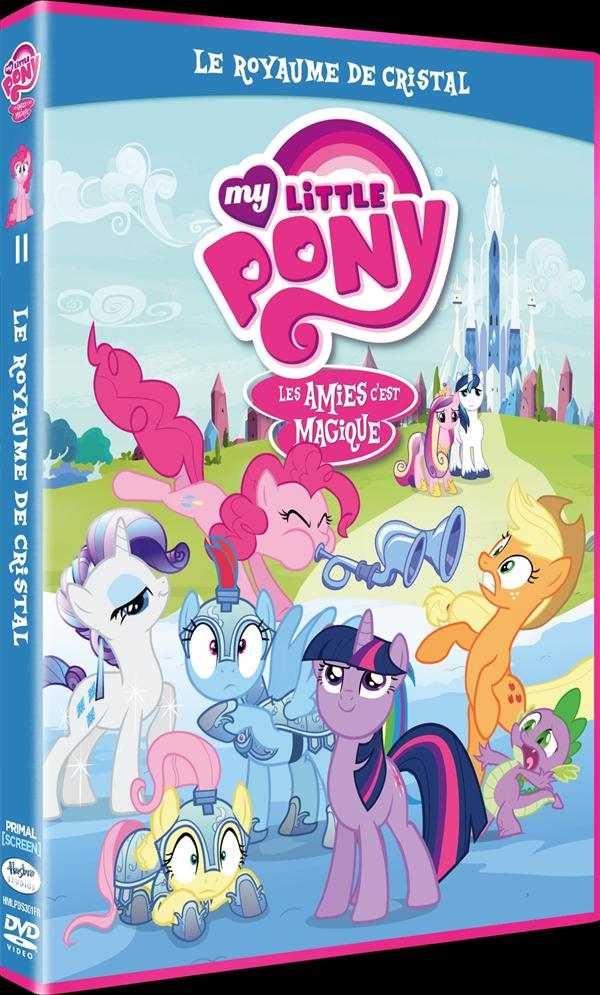 My Little Pony : Les amies c'est magique ! - Saison 3, Vol. 11 : Le Royaume de Cristal
