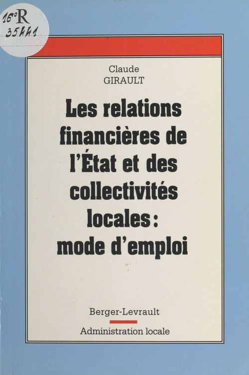Relations financieres de l'etat et des collectivites locales