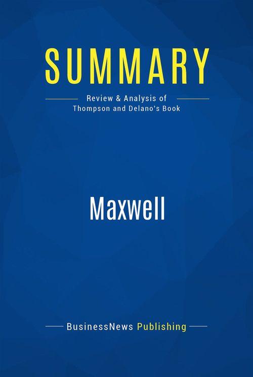 Summary: Maxwell