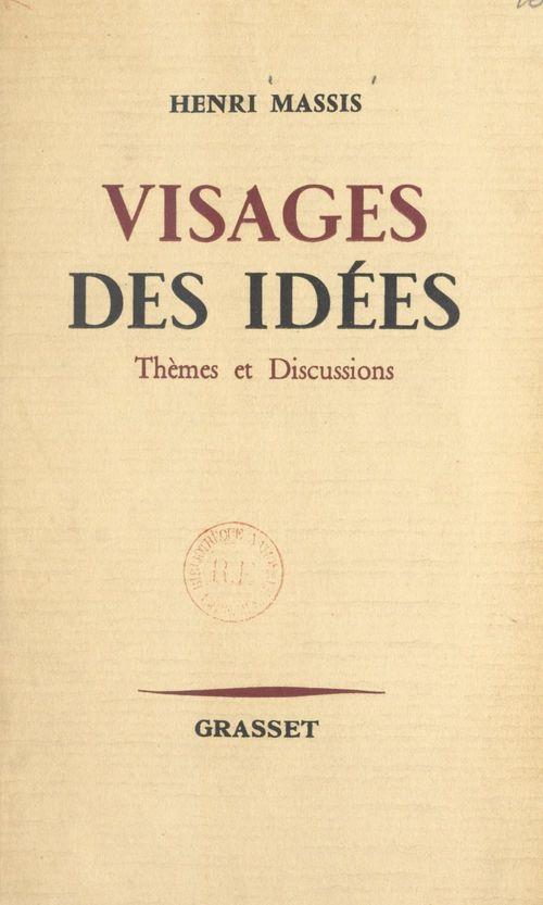 Visages des idées