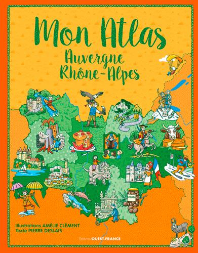 Mon atlas Auvergne - Rhône alpes