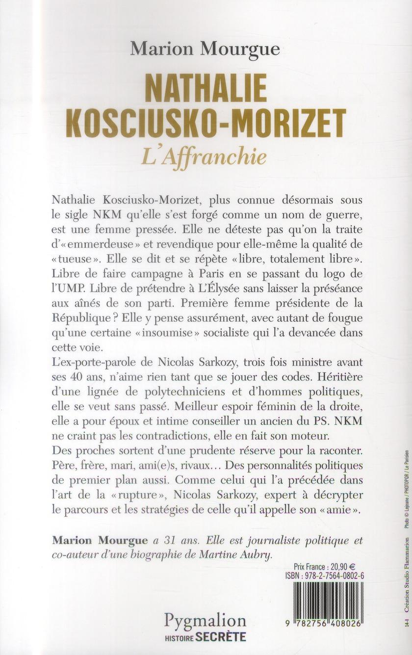 Nathalie Kosciusko-Morizet, l'affranchie