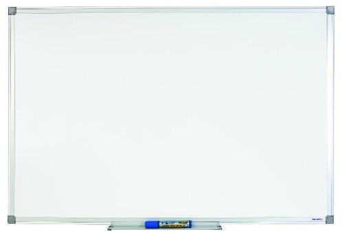 Juvenilia Tableau blanc magn/étique laqu/é cadre aluminium 90 x 120 cm