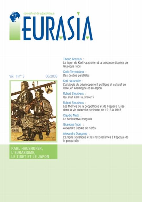Karl Haushofer, l'eurasisme, le Tibet et le Japon