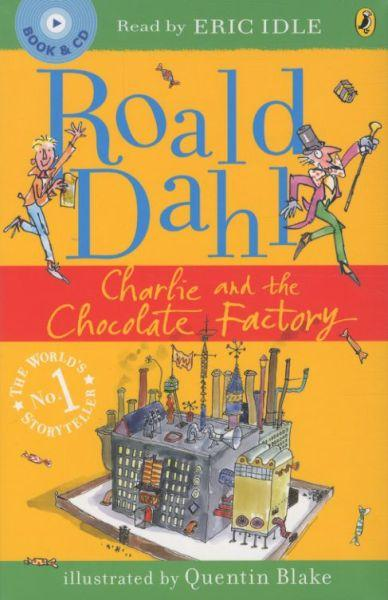 Charlie and the chocolate factory - unabridged 3 cds, read by eric idle