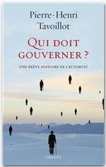 Qui doit gouverner ?