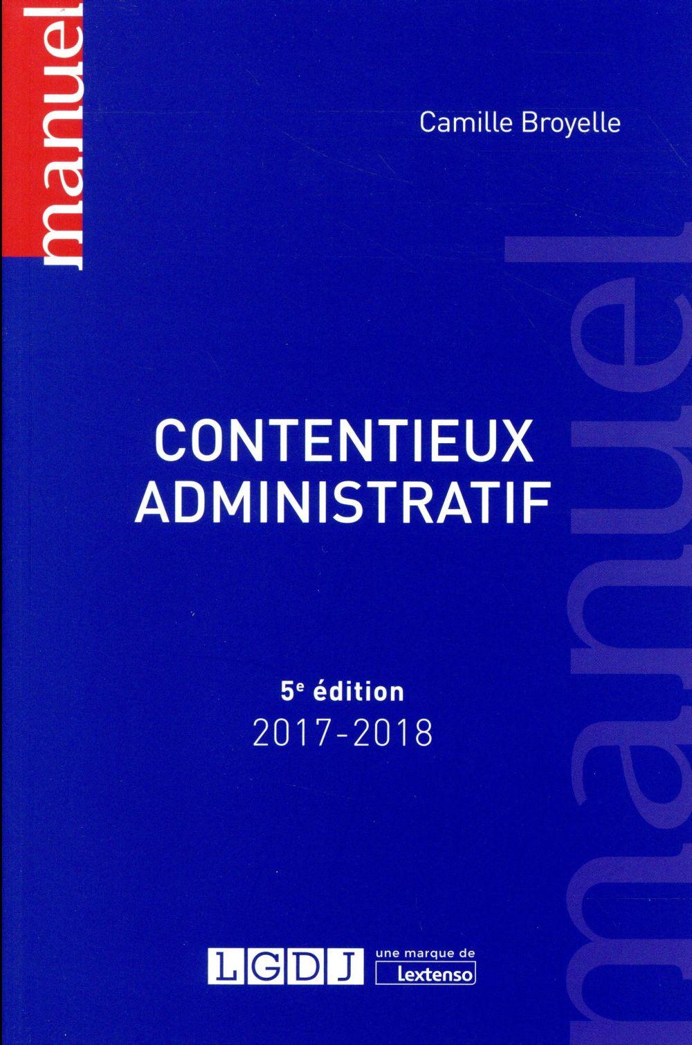 Contentieux administratif (5e édition)
