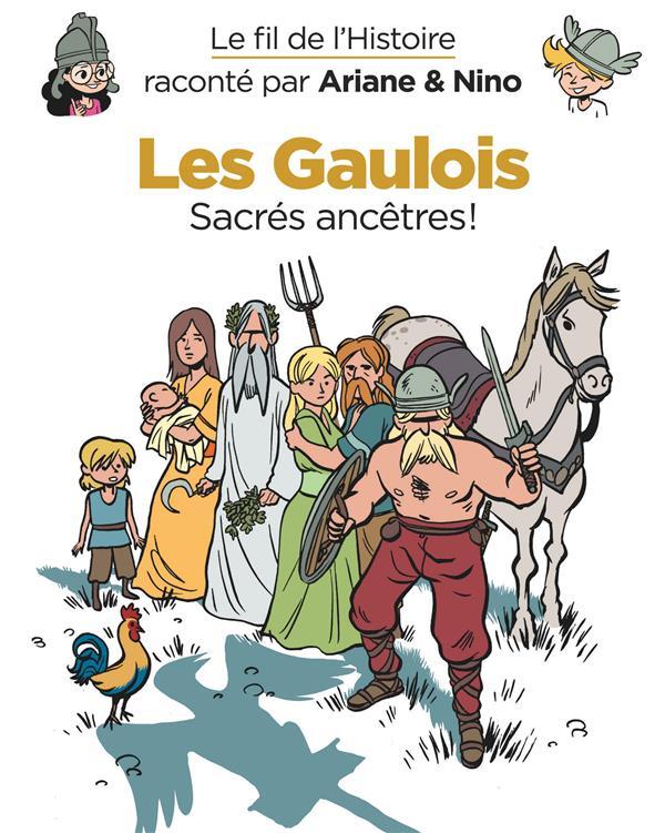 LE FIL DE L'HISTOIRE RACONTE PAR ARIANE & NINO - TOME 3 - LES GAULOIS ERRE FABRICE