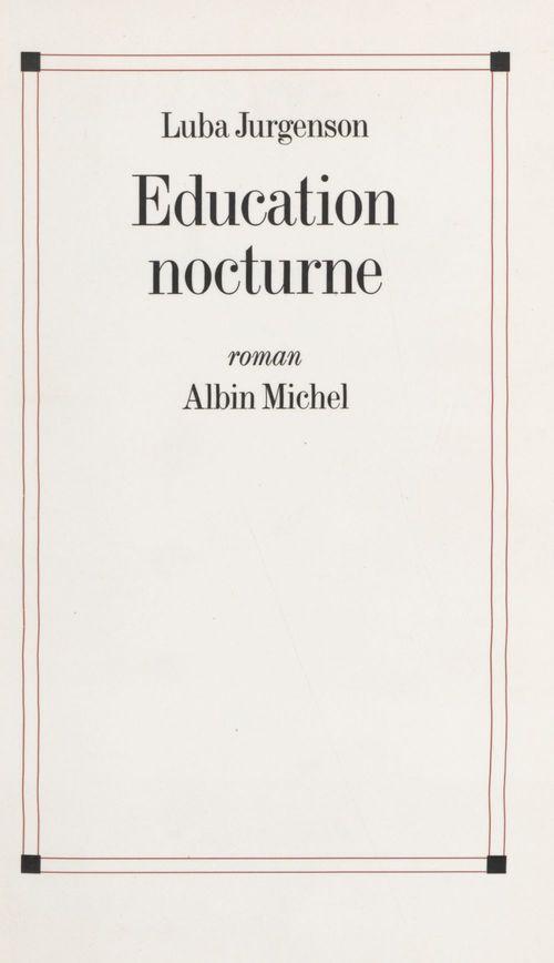 Éducation nocturne
