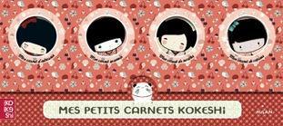 Mes petits carnets Kokeshi