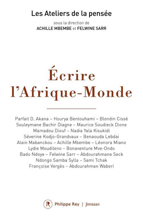 écrire l'Afrique-monde