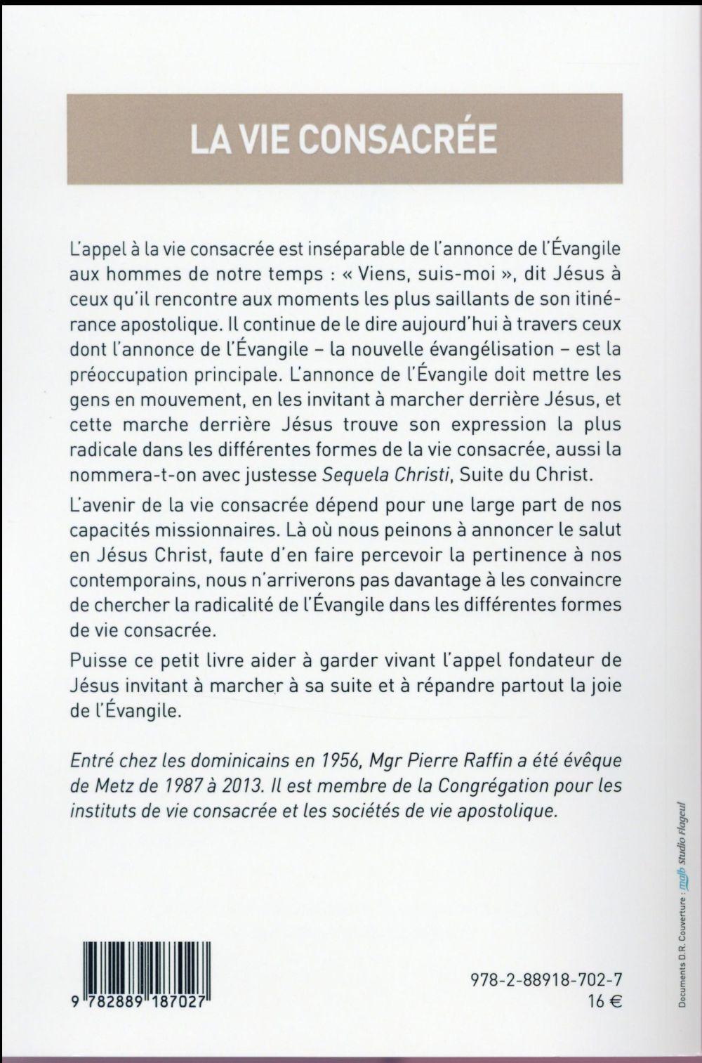 La Vie Consacree Pierre Raffin Parole Et Silence Grand Format Le Hall Du Livre Nancy