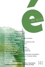 Vente Livre Numérique : Les écrits. No. 141. Août 2014  - Martine Audet - Christian Thorel - Alain Fleischer - Jacques Henric - François D. Prud´homme - Antoine Volodine - Paul Chanel