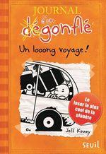 Vente Livre Numérique : Un looong voyage. Journal d'un dégonflé, tome 9  - Jeff Kinney