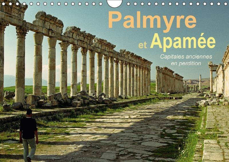 Palmyre et Apamée ; capitales anciennes en perdition (calendrier mural 2017 DIN A4 horizontal)