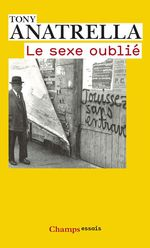 Vente Livre Numérique : Le Sexe oublié  - Tony Anatrella