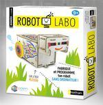 Robot labo ; fabrique et programme ton robot sans ordinateur
