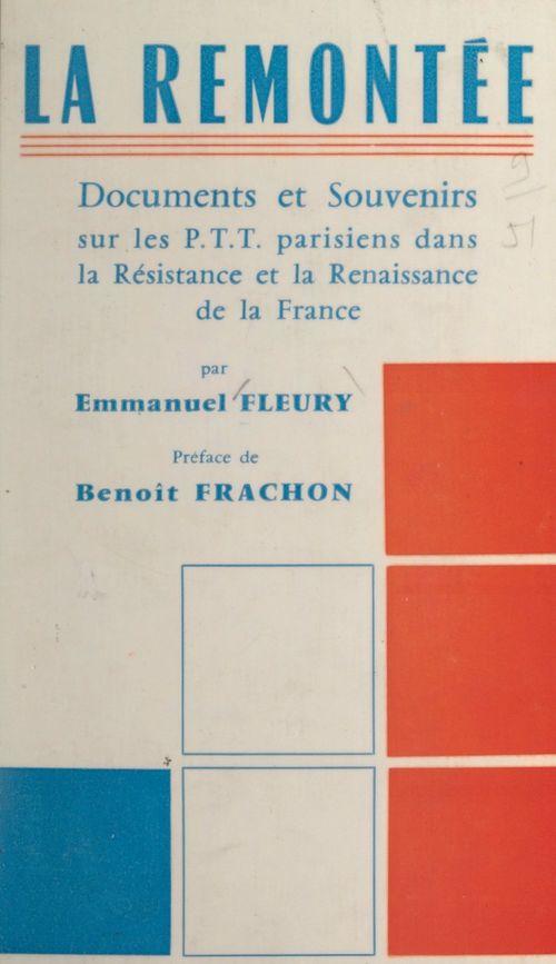 La remontée  - Emmanuel Fleury