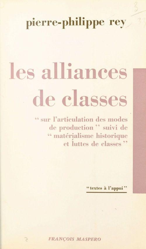Les alliances de classes
