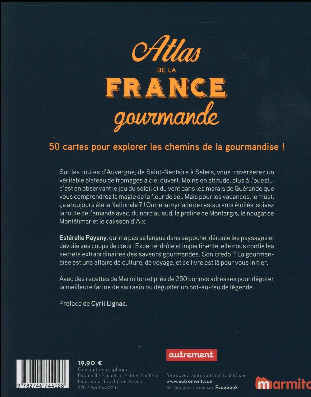 Atlas de la France gourmande