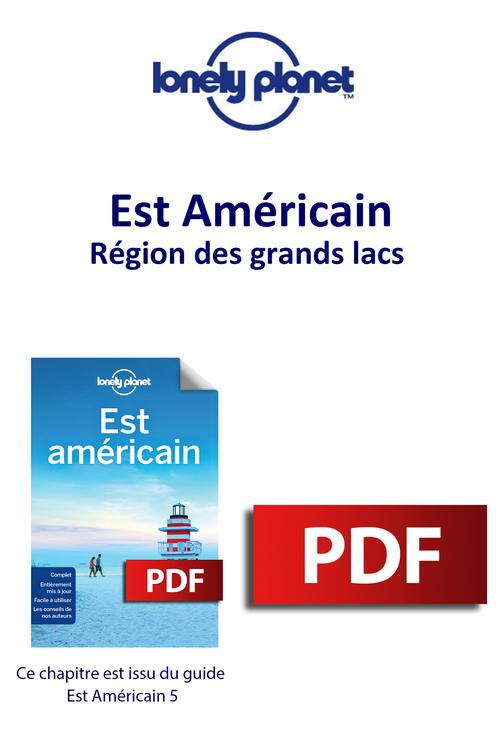 Est Américain - Région des grands lacs  - Lonely Planet Eng